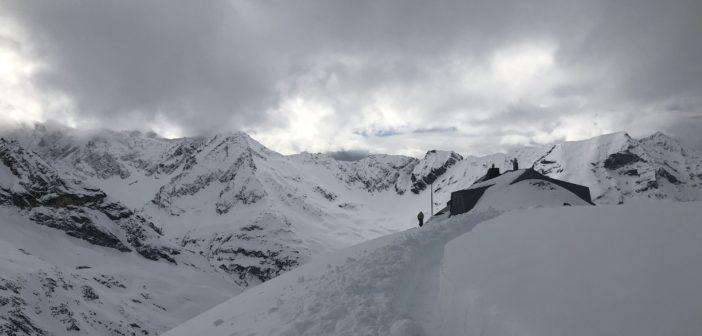 Les sommets enneigés avec Thomas de Dorlodot